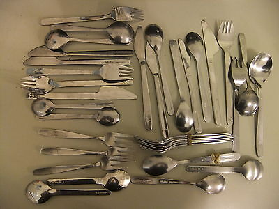 Cutlery AIRLINE rare 36  pieces BEA BA KLM Lufthansa Cathy Pacific  .. o3