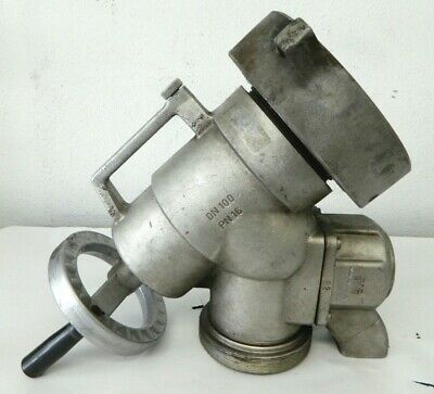 "#2 AWG Firetruck Fire Fighter Piston Intake Relief Valve 5"" NH x 4"" NH"