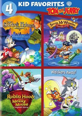 4 Kid Favorites: Tom And Jerry Used - Very Good Dvd