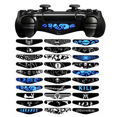 Kill 30 PCS/SET Light Bar Cover Sticker Skin Decal For Dualshock4 PS4 Controller