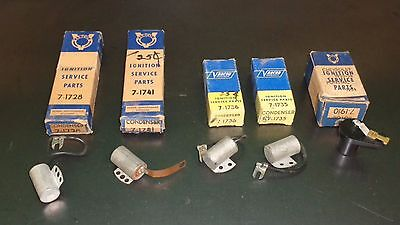New Varcon Ignition Distributor Vintage Parts Lot Condenser Rotor Hudson Chevy