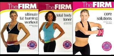 The FIRM 4-on-3 WORKOUT DVD SET: TOTAL BODY ~ULTIMATE ~TONER +FREE Fitness Bonus