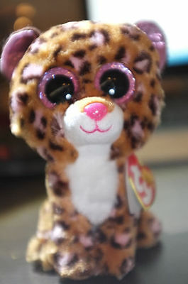 Patches The Tan Leopard Ty Beanie Boos  Brand New