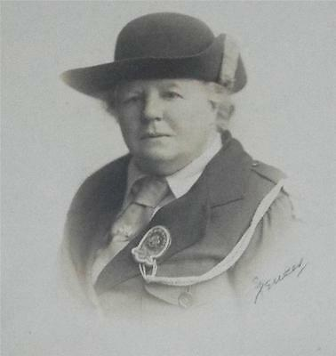 1940's PHOTOGRAPH OF COMMISSIONER OF GIRL GUIDES