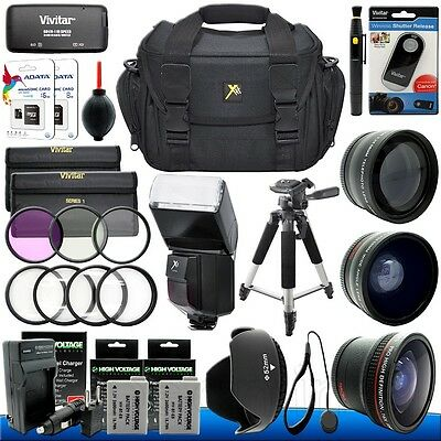 Canon EOS Rebel T5i T4i T3i T2i DSLR Camera Everything You Need Accessory Kit