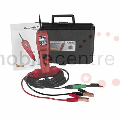 NEW Power Probe 4 Red Circuit Tester PP401AS PowerProbe IV Diagnostic Tool PP4