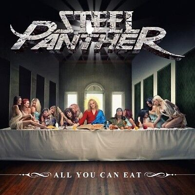 Steel Panther - All You Can Eat ( Cd+Dvd ) - 2 Cd + Dvd - Neu!!