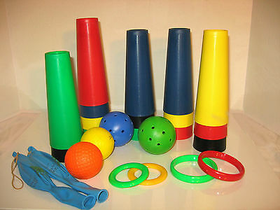 30 Therapy Rehab Cones And 10 Accessories Wholesale Lot - New