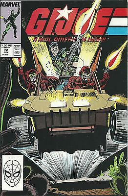 G.i.joe: A Real American Hero #72  (Marvel) (1988) Vf+