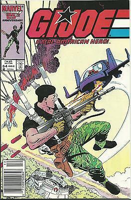 G.i.joe: A Real American Hero #54  (Marvel) (1986)