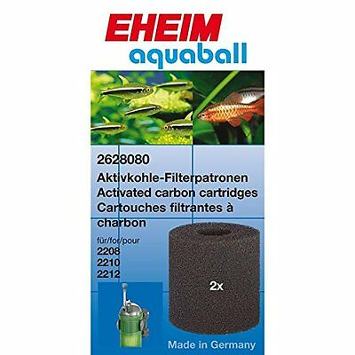 EHEIM  AQUABALL FILTER CARBON FOAM x2  2628080