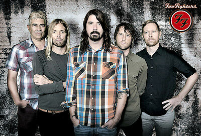 """FOO FIGHTERS ROCK BAND MUSIC POSTER #2 24""""x35"""""""