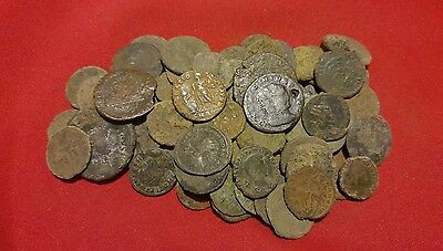 LARGE SIZE Ancient Roman Coins *LOW GRADE 20-30 mm / 330 AD Constantine / 1 COIN