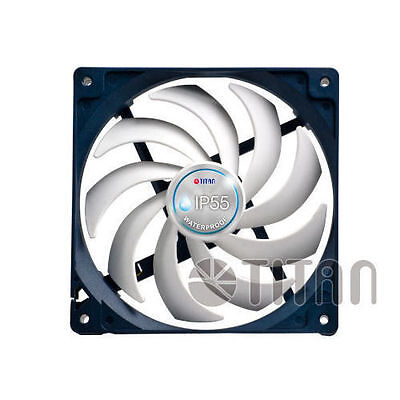 Titan IP55 92mm x 25mm Waterproof Dustproof Cooling Fan Model: TFD-9225HH12B