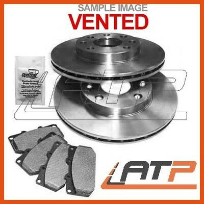 Brake Discs + Pads Front Vented Ventilated Ø295 Suzuki Grand Vitara Mk 2 05-
