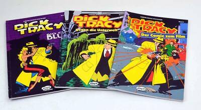 Zur Auswahl: Dick Tracy Band 1 - 3 Ehapa