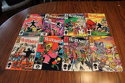 Fallen Angels Set #1,2,3,4,5,6,7,8 1987 VF/NM 9.0 Marvel See My Store