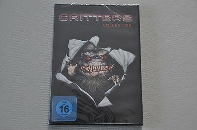 DVD Critters Collection Box 1 2 3 4 - alle Teile - Neu OVP