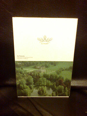Princess Diana Althorp Family 10 Ten Postcards Early Example Unused In Slipcase