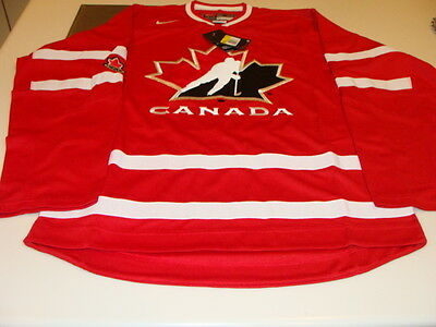 2016 World Juniors Championship Team Canada Red Jersey Player WJC IIHF XL NWT
