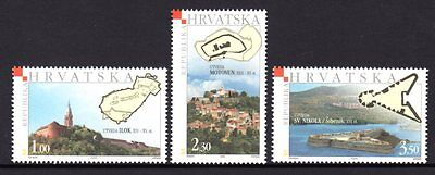 Croatia 2005 Towers & Forts Set 3 MNH