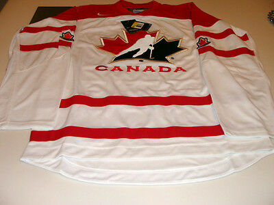 2016 World Juniors Championship Team Canada White Jersey Player WJC IIHF XXXL