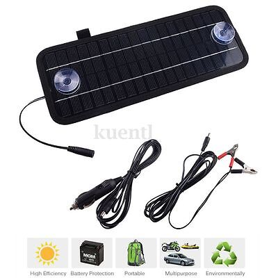 12V 4.5W Portable Power Solar Panel Battery Charger For Car Boat Motorcycle U