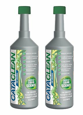 Cataclean Liquid Science Diesel & Petrol Fuel & Exhaust System Cleaner Twin Pack