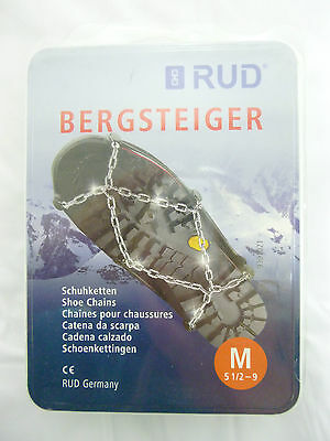 RUD Bergsteiger Shoe Snow  Chains Snowchains New Hiking BARGAIN (BR2)