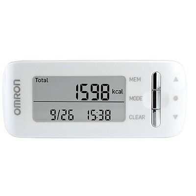 Omron CaloriScan HJA-306 Professional Weight Management Activity Monitor - White
