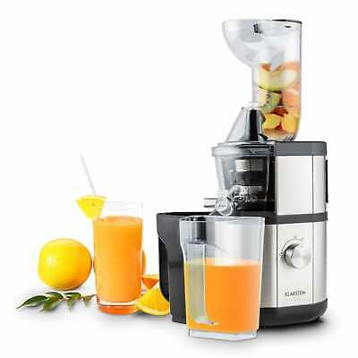 Extracteur De Jus Slow Juicer Klarstein Fruitberry 400W 60T/min Fruits Legumes