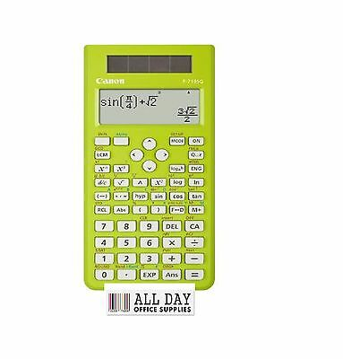 Canon F-718SG Scientific Calculator (264 Functions and Features) EZ2-4171