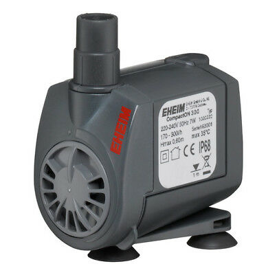 EHEIM Compact aquarium pumps 300 600 1000 2000 WATER  FLOW PUMP