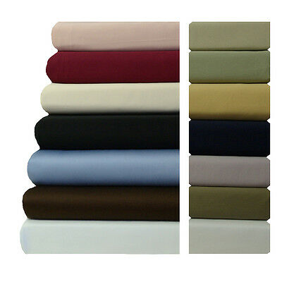 King Calking Attached Waterbed Sheet Set 600 Threadcount 100% Cotton