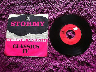"""Classics IV – Stormy / 24 Hours Of Loneliness , Vinyl, 7"""", Single"""