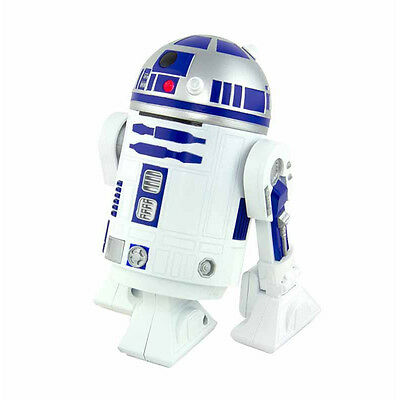 Official Star Wars R2-D2 Droid Novelty Desktop Vacuum Hoover - Boxed Crumbs New
