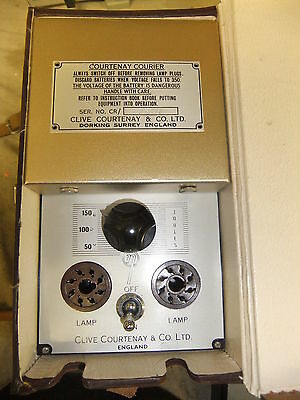 Electrical tester Courtenay Courier & Co Dorking Surrey in NEW Original Case