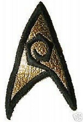 STAR TREK Classic - Uniform Aufnäher  patch - rar