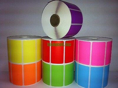 "1 Roll 2.25""x1.25"" Direct Thermal Barcode Labels Zebra LP2824 TLP2824 LP2844"