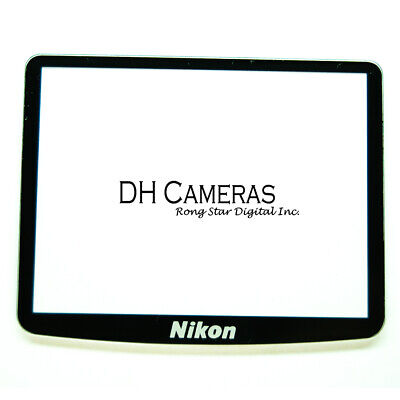 NEW Nikon DSLR D90 Outer LCD Screen Display Window Glass Replacement Repair part