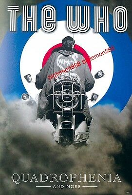 "THE WHO - QUADROPHENIA HARD ROCK BAND Music Poster #3 24""x35"""
