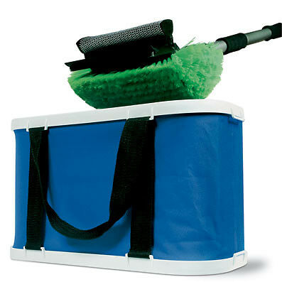 Camco XL Collapsible Bucket, for Use with Large Wash Brushes - 42973