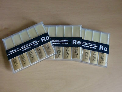 Flying Goose Regular Cut Eb Alto Sax Reeds 1.5, 2, 2.5 - ONLY £7.89 box of 10