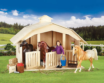 Breyer West Wind Stable / Barn Set - Wood - Classics Model - #51951