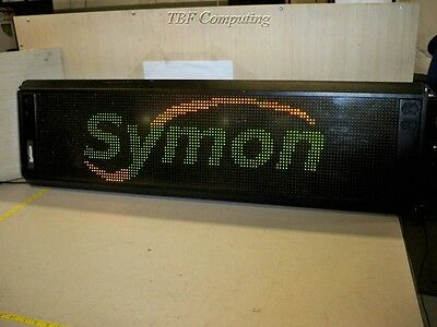 Symon Netlite II LED Display Sign 32x128 Inches Wireless 50/60 Hz 200 Watts