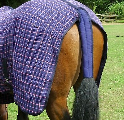 Gee Tac Rug Travel Sheet Tail Guard Padded Non Slip Cob