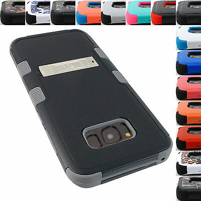 For Samsung Galaxy Phones Shock Proof Tuff Rugged Case Kickstand Cover+Stylus
