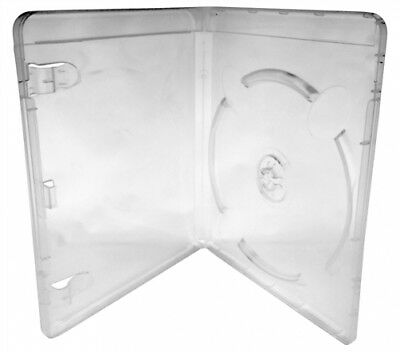 50 Clear Playstation 3 Replacement Blu-ray Cases 14mm