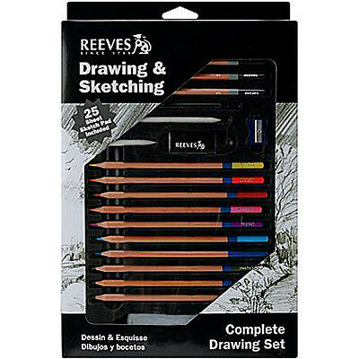 Reeves Complete Drawing Set-Drawing & Sketching DESK SET