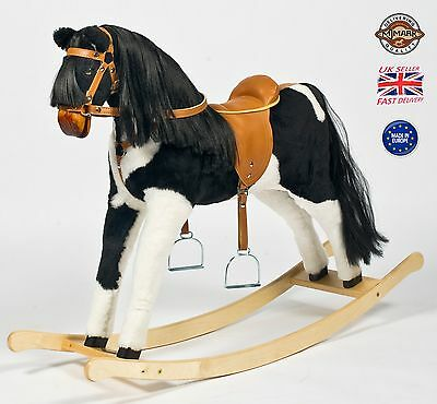 "Handmade Brand New Rocking Horse ""Titan IV"" from MJMARK MADE IN EUROPE"